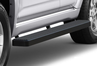 iStep 6 Inch Running Board 2010-2013 Toyota 4 Runner SR5  Black Finish