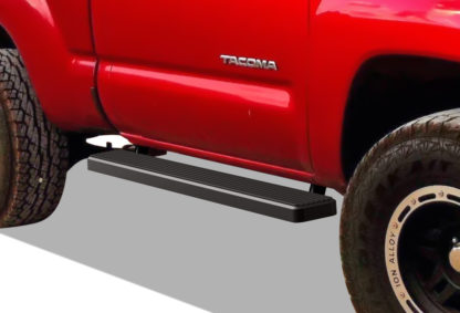 iStep 6 Inch Running Board 2005-2018 Toyota Tacoma Regular Cab  Black Finish
