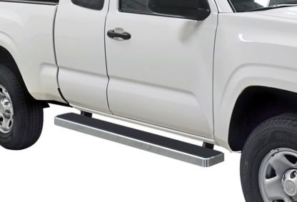 iStep 6 Inch Running Board 2005-2018 Toyota Tacoma Extended Cab/ Access Cab  Hairline Finish