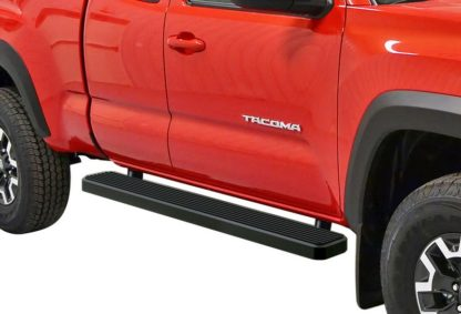 iStep 6 Inch Running Board 2005-2018 Toyota Tacoma Access/Ext Cab  Black Finish