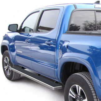 iStep 6 Inch Running Board 2005-2018 Toyota Tacoma Double Cab  Hairline Finish