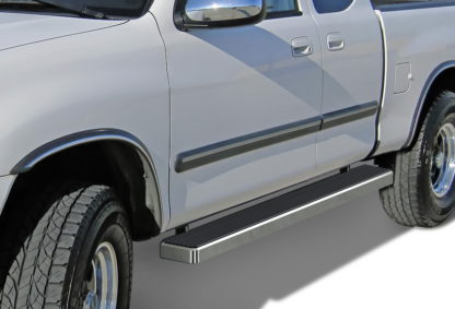 iStep 6 Inch Running Board 2000-2006 Toyota Tundra Extended Cab  Hairline Finish