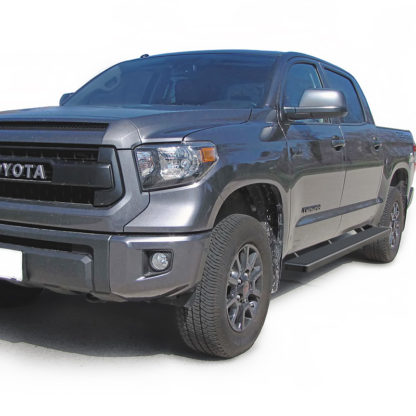 iStep 6 Inch Running Board 2007-2018 Toyota Tundra CrewMax Cab Black Finish
