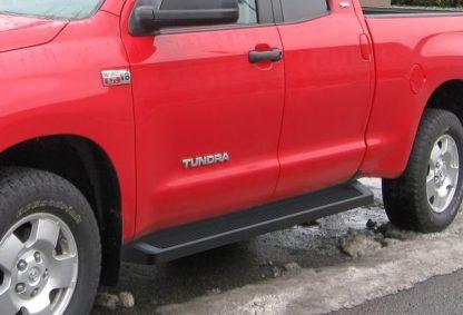 iRunning Board 6 Inch 2007-2018 Toyota Tundra Double Cab  Black