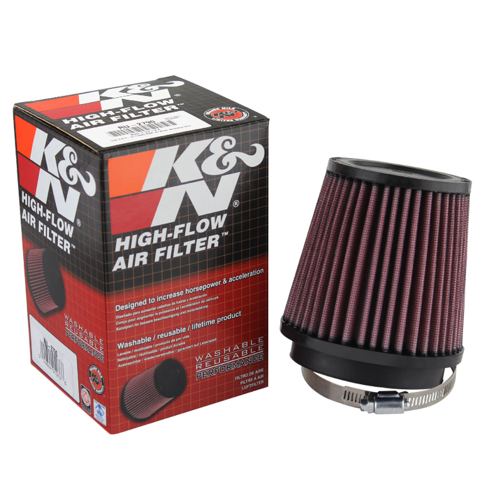 ( xTune ) K&N 3.5 Inch Rubber Filter - Universal