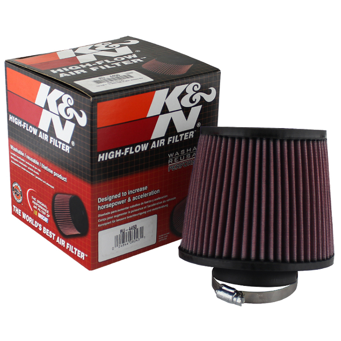 ( xTune ) K&N 2.75 Inch Rubber Filter - Universal