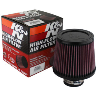 ( xTune ) K&N 2.5 Inch Rubber Filter - Universal