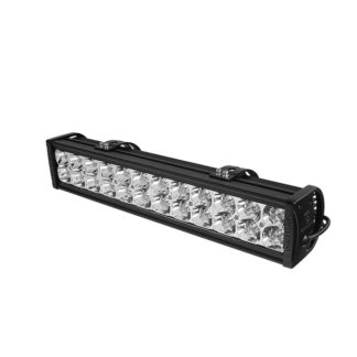 20 Inch 12pcs 3W LED 72W (SPOT) LED Bar - Chrome