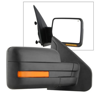 MIR-03349EH-P-R Ford F150 07-14 POWER Heated Amber LED Signal OE Mirror - Right