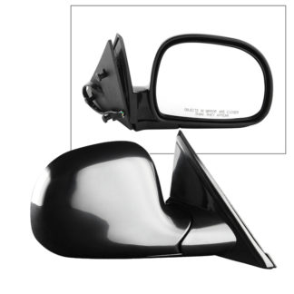 MIR-08039-231-P-R Chevy S10/Blazer 94-02 OE Mirror Black Painted Power - Right | Fit GMC Sonoma/JIMMY 95-98 | Oldsmobile Bravada 96-98 | Isuzu Hombre Pickup Truck 96-97 | OE# 15150852    PL# GM1321127