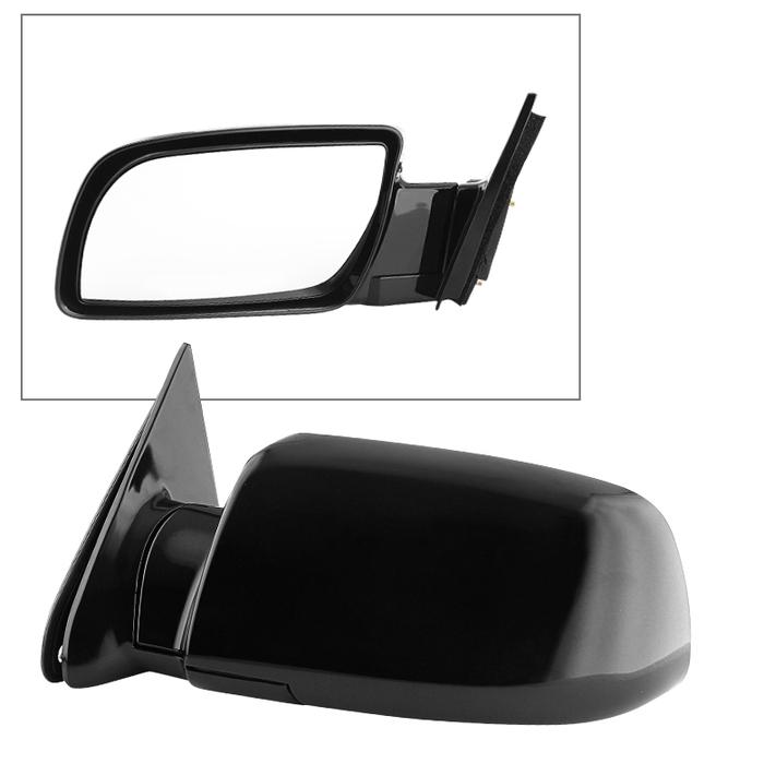 Fits 08-13 Enclave Left Driver Mirror Power Fold Unpainted w// Heat Signal Memory