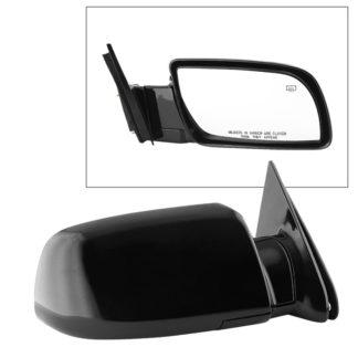 MIR-08043-251-P-R Chevy GMC C/K Pickup 88-98 OE Mirror Black Power Heated- Right | Fit Chevy/GMC Suburban 92-99 | Chevy Tahoe 92-98 | GMC Yukon 92-98 | Chevy Blazer 92-94 | OE# 15764748 PL# GM1321276
