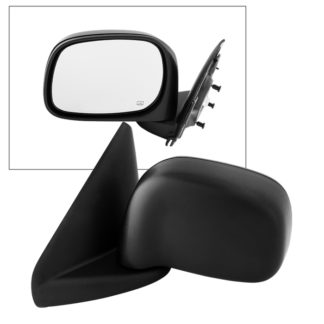 MIR-13012-252-P-L Dodge Ram 02-08 1500/2500/3500 OE Mirror Textured Power Heated- Left | OE# 55077441AE 55077925AB/AC    PL# CH1320215 CH1320306