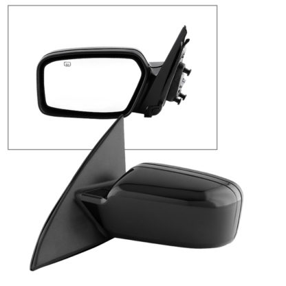MIR-15143-952-P-L Ford Fusion 06-10 OE Mirror Textured Power Heated - Left | Fit Mercury Milan 06-10 | OE# 6E5Z-17683-C+6E5Z-17D743 BPTM  PL# FO1320266