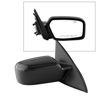 MIR-15143-971-P-R Ford Fusion 06-12 OE Mirror Textured Power Heated Puddle Light - Right | Fit Mercury Milan 06-11 | OE# 6E5Z-17682-B+6E5Z-17D742 BPTM   PL# FO1321267