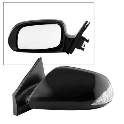 MIR-56001-9H2-P-L Scion TC 05-10 OE Mirror Black Power - Left | OE# 8794021190   PL# SC1320102