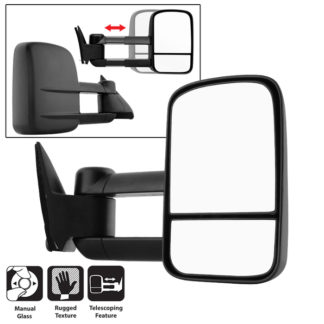 MIR-CCK88-MA-R Chevy C10 88-98 Manual Extendable - Manual Adjust Mirror - Right