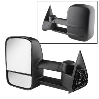 MIR-CSIL03-MA-L Chevy Silverado 99-06 Manual Extendable - MANUAL Adjust Mirror - LEFTFitChevy Silverado and GMC Trucks Tahoe  Suburban  Yukon and Yukon XL 00-06 /Tahoe  Suburban  Yukon and Yukon XL 01-06 /For 1999 these mirrors will only fit 1500 series Silverado and Sierra /For the 2000 model  They do not fit Tahoe Z71 or Yukon Denali /2007 Silverado will only fit Classic models