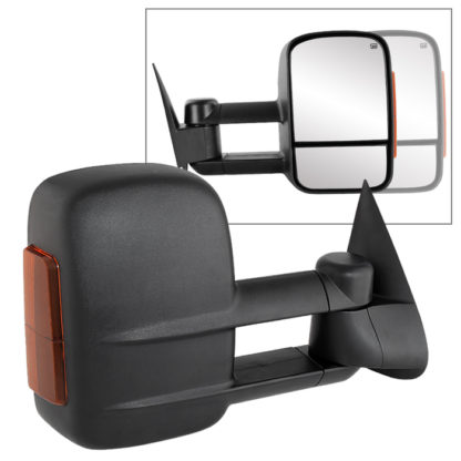 MIR-CSIL03S-PW-AM-R Chevy Silverado 03-06 Manual Extendable - POWER Heated Adjust Mirror with LED Signal Amber - RightFit:Chevy Silverado 1500 Classic 2007 /Chevy Silverado 1500 2003-06 /Chevy Silverado 1500 HD 2003 /Chevy Silverado 1500 HD 2005-07 /Chevy Silverado 2500 2003-04 /Chevy Silverado 2500 HD 2003-06 Chevy Silverado 2500 HD Classic 2007 /Chevy Silverado 3500 Classic 2007 /Chevy Silverado 3500 2003-06 /Chevy Suburban 1500 2003-06 /Chevy Suburban 2500 2003-06 /Chevy Tahoe 2003-06 /GMC Sierra 1500 2003-06 /GMC Sierra 1500 Classic 2007 /GMC Sierra 1500 HD 2005-07 /GMC Sierra 1500 HD 2003 /GMC Sierra 2500 2003-04 /GMC Sierra 2500 HD Classic 2007 /GMC Sierra 2500 HD 2003-06 /GMC Sierra 3500 Classic 2007 /GMC Sierra 3500 2003-06 /GMC Yukon 2003-06 /GMC Yukon XL 1500 2003-06 /GMC Yukon XL 2500 2003-06 /GMC Yukon XL Denali 2003-06