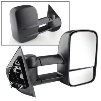 MIR-CSIL07-PW-R Chevy Silverado 07-12 Manual Extendable - POWER Heated Adjust Mirror - RIGHTFit:Chevy Avalanche 1500 2007-13 /Chevy Silverado 1500 New Body Style 2007 /Chevy Silverado 1500 2008-13 /Chevy Silverado 2500 HD 2008-13 /Chevy Silverado 2500 HD New Body Style 2007 /Chevy Silverado 3500 New Body Style 2007 /Chevy Silverado 3500 2008-13 /Chevy Silverado Hybrid New Body 2007 /Chevy Silverado Hybrid 2009-13 /Chevy Suburban 1500 2007-13 /Chevy Suburban 2500 2007-13 /Chevy Tahoe 2007-13 /GMC Sierra 1500 2008-13 /GMC Sierra 1500 New Body Style 2007 /GMC Sierra 2500 HD New Body Style2007 /GMC Sierra 2500 HD 2008-13 /GMC Sierra 3500 New Body Style 2007 /GMC Sierra 3500 2008-13 /GMC Sierra Denali 1500 2008-13 /GMC Sierra Denali 1500 New Body Style 2007 /GMC Sierra Denali 2500 HD 2011-13 /GMC Sierra Denali 3500 HD 2011-13 /GMC Sierra Hybrid New Body Style 2007 /GMC Sierra Hybrid 2009-13 /GMC Yukon 2007-13 /GMC Yukon XL 1500 2007-13 /GMC Yukon XL 2500 2007-13 /GMC Yukon XL Denali 2007-13