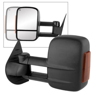 MIR-CSIL07S-PW-AM-L Chevy Silverado 07-12 Manual Extendable - POWER Heated Adjust Mirror with LED Signal Amber - LeftFit:Chevy Avalanche 1500 2007-13 /Chevy Silverado 1500 New Body Style 2007 /Chevy Silverado 1500 2008-13 /Chevy Silverado 2500 HD 2008-13 /Chevy Silverado 2500 HD New Body Style 2007 /Chevy Silverado 3500 New Body Style 2007 /Chevy Silverado 3500 2008-13 /Chevy Silverado Hybrid New Body 2007 /Chevy Silverado Hybrid 2009-13 /Chevy Suburban 1500 2007-13 /Chevy Suburban 2500 2007-13 /Chevy Tahoe 2007-13 /GMC Sierra 1500 2008-13 /GMC Sierra 1500 New Body Style 2007 /GMC Sierra 2500 HD New Body Style2007 /GMC Sierra 2500 HD 2008-13 /GMC Sierra 3500 New Body Style 2007 /GMC Sierra 3500 2008-13 /GMC Sierra Denali 1500 2008-13 /GMC Sierra Denali 1500 New Body Style 2007 /GMC Sierra Denali 2500 HD 2011-13 /GMC Sierra Denali 3500 HD 2011-13 /GMC Sierra Hybrid New Body Style 2007 /GMC Sierra Hybrid 2009-13 /GMC Yukon 2007-13 /GMC Yukon XL 1500 2007-13 /GMC Yukon XL 2500 2007-13 /GMC Yukon XL Denali 2007-13