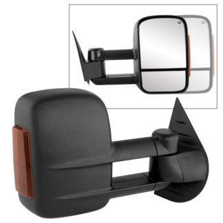 MIR-CSIL07S-PW-AM-R Chevy Silverado 07-12 Manual Extendable - POWER Heated Adjust Mirror with LED Signal Amber - RightFit:Chevy Avalanche 1500 2007-13 /Chevy Silverado 1500 New Body Style 2007 /Chevy Silverado 1500 2008-13 /Chevy Silverado 2500 HD 2008-13 /Chevy Silverado 2500 HD New Body Style 2007 /Chevy Silverado 3500 New Body Style 2007 /Chevy Silverado 3500 2008-13 /Chevy Silverado Hybrid New Body 2007 /Chevy Silverado Hybrid 2009-13 /Chevy Suburban 1500 2007-13 /Chevy Suburban 2500 2007-13 /Chevy Tahoe 2007-13 /GMC Sierra 1500 2008-13 /GMC Sierra 1500 New Body Style 2007 /GMC Sierra 2500 HD New Body Style2007 /GMC Sierra 2500 HD 2008-13 /GMC Sierra 3500 New Body Style 2007 /GMC Sierra 3500 2008-13 /GMC Sierra Denali 1500 2008-13 /GMC Sierra Denali 1500 New Body Style 2007 /GMC Sierra Denali 2500 HD 2011-13 /GMC Sierra Denali 3500 HD 2011-13 /GMC Sierra Hybrid New Body Style 2007 /GMC Sierra Hybrid 2009-13 /GMC Yukon 2007-13 /GMC Yukon XL 1500 2007-13 /GMC Yukon XL 2500 2007-13 /GMC Yukon XL Denali 2007-13