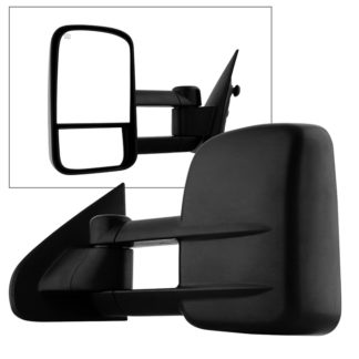 MIR-CSIL14-PWH-L Chevy Silverado 14-15 POWER Heated Telescoping Mirror - Left