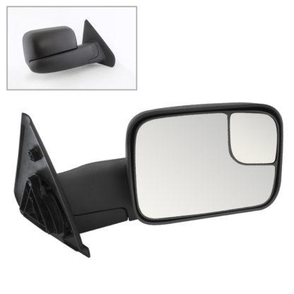 MIR-DRAM02-MA-R Dodge Ram 02-09 Manual Extendable - MANUAL Adjust Mirror - RIGHTFit:Dodge Ram 1500 1994-01 /Dodge Ram 2500 1994-02 /Dodge Ram 3500 1994-02 /