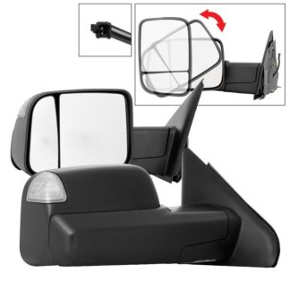 MIR-DRAM02S-G2-MA-SET Dodge Ram 02-09 G2 Manual Extendable - Manual Heated Adjust Mirror - SET Fit Dodge Ram 1500 2002-08 / Dodge Ram 2500 2003-09 / Dodge Ram 3500 2003-09 /
