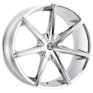 2Crave No. 29 Chrome Custom Wheel