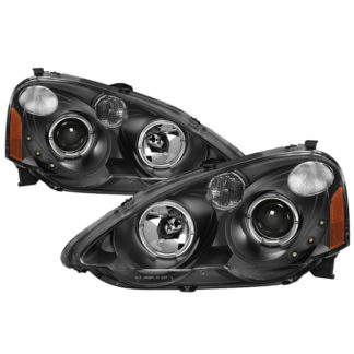 Acura RSX 2002-2004 Halo Projector Headlights - Black