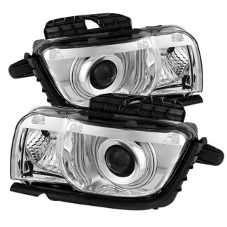 Chevy Camaro 10-13 CCFL Halo Projectoer Headlights - Chrome