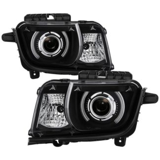 Chevy Camaro 10-13 CCFL Halo Projectoer Headlights - Black