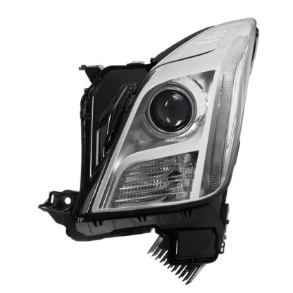 Cadillac XTS 13-15 Xenon w/AFS HID OE Projector headlights - Chrome - Left