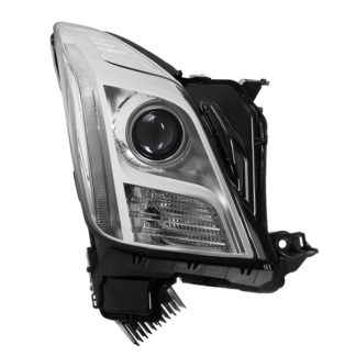 Cadillac XTS 13-15 Xenon non-AFS HID OE Projector headlights - Chrome - Right