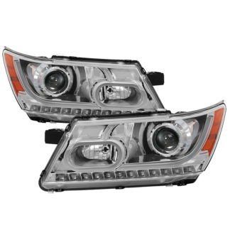 Dodge Journey 2009-2014 Light Bar DRL Projector  - Black