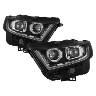 Ford Edge 15-16 (Fit Halogen Model) LED Projector Headlights - Chrome