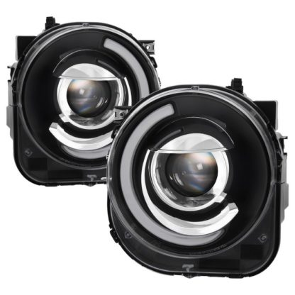 Jeep Renegade 2015-2017 Projector Headlights - Light Bar DRL -Black