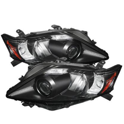 Lexus RX 10-12 OE Projector Headlights (w/AFS. HID fit) - Black