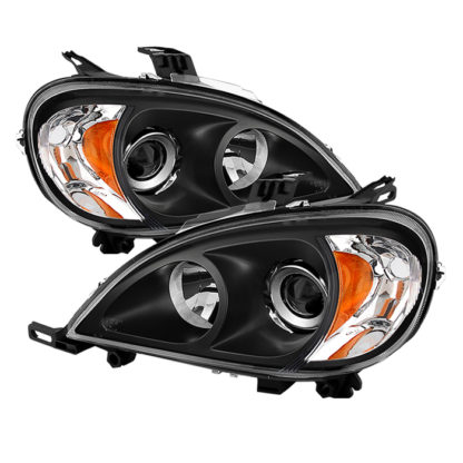Mercedes Benz W163 ML-Class 98-01 Projectoer Headlights - Black