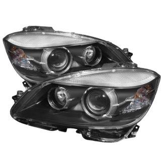 Mercedes Benz C-Class 08-11 OE Projector Headlights (w/AFS. HID fit) - Black