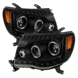 Toyota Tacoma 05-11 Halo Projector Headlights - Black