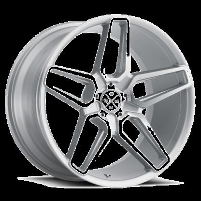 Blaque Diamond Wheel / Model BD-17 - 5 Lug / Brushed Silver