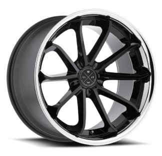 The Blaque Diamond Model 23 Custom Wheel presents a destinct innovative style to seperate your vehicle from the rest. Blaque Diamond Wheels are designed in the U.S.A. and offered globally to high-end luxury