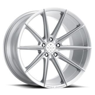Blaque Diamond Wheel / Model BD-11 / Gloss Silver
