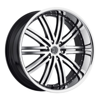 2Crave No. 11 Black Diamond Custom Wheel