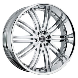 2Crave No. 11 Chrome Custom Wheel
