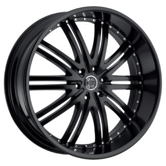 2Crave No. 11 Satin Black Custom Wheel