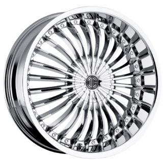 2Crave No. 19 Chrome Custom Wheel