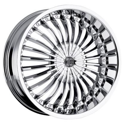 2Crave No. 19 Chrome Custom Wheel